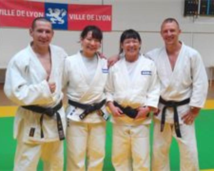 Stage Judo avec des championnes Japonaises